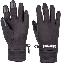 Marmot Womens Gloves Power Stretch Connect Black M