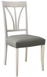 Ēdamistabas krēsls MN 2A71 TPUM N White Gray 2773016