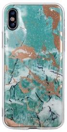 TakeMe Marmur Shine Back Case For Samsung Galaxy J6 Plus Green