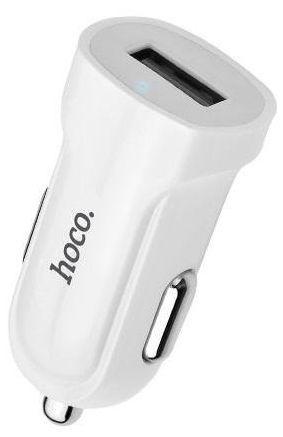 Hoco Premium Z2 Fast USB Car Charger White