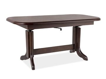 Signal Meble Emil Adjustable Table Walnut