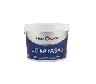 Краска Ultra Fasad, белая, 10 l
