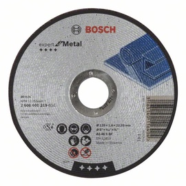 Bosch Metal Abrasive Cutting Disc 125x22x1.6mm