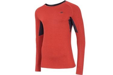 4F Men's Functional Long Sleeve Top Red L NOSH4-TSMLF002-62M