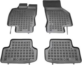 Резиновый автомобильный коврик REZAW-PLAST Seat Leon ST 2014, 4 шт.