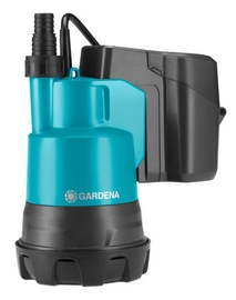 Gardena Battery Clear Water Submersible Pump 2000/2 Li-18 Set