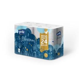 Grite Blossom Toilet Paper 18.75m 24pcs White