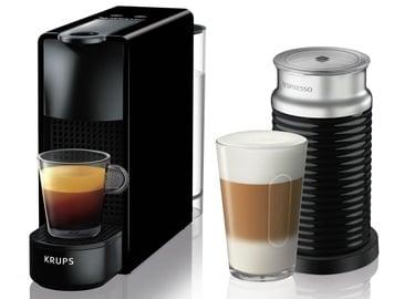 Kapsulas kafijas automāts Krups Essenza Mini, melna