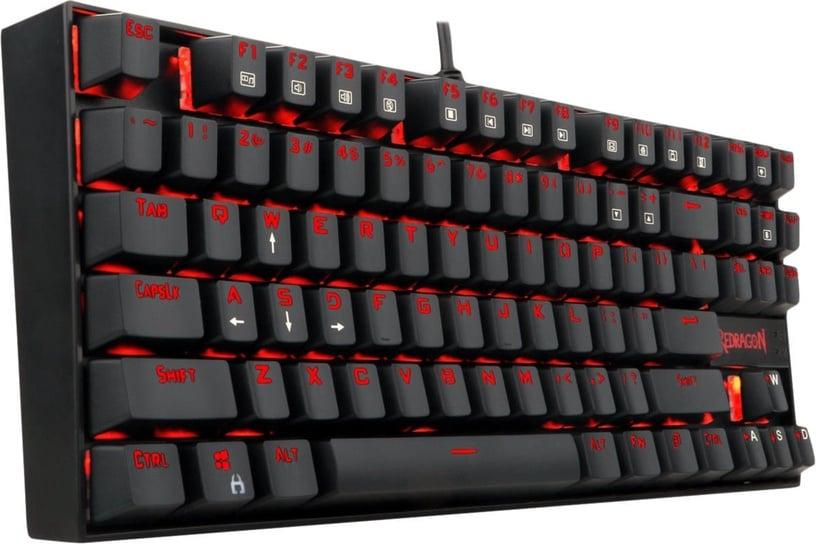 Redragon K552 Red Mechanical Gaming Keyboard Black