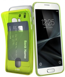 SBS Fluo Card Back Case For Samsung Galaxy S7 Green