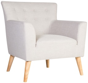 Atzveltnes krēsls Home4you Movie Light Gray, 83x76x83 cm