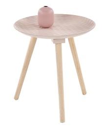 Kafijas galdiņš Halmar Bingo Light Pink, 400x400x420 mm