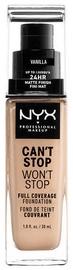 Tonizējošais krēms NYX Can't Stop Won't Stop CSWSF06 Vanilla, 30 ml