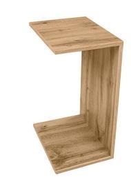 Kafijas galdiņš Black Red White Przystawka Wotan Oak, 400x300x630 mm