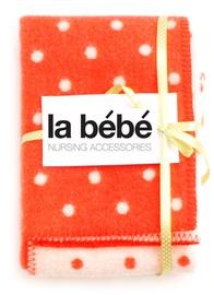 La Bebe Strawberry Dots Natural Lambswool 77008