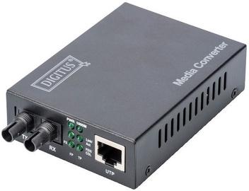 Optiskais pārveidotājs Digitus Converter RJ45 to ST Multi-Mode Converter, 1 Mb/s