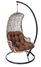 Krēslu spilvens Y9147, brūna, 105 x 80 cm