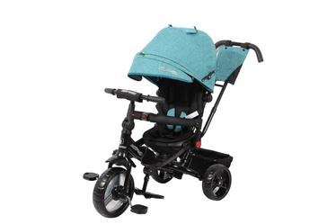 "Bērnu velosipēds Madej XG7236-1-2, melna/zaļa, 12"""