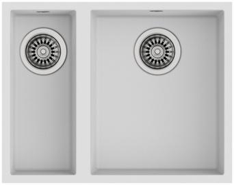 Teka Square 2B 540 TG Sink White