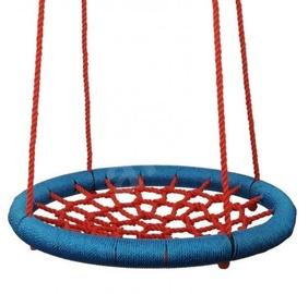 Šūpoles Woodyland Ring, zila/sarkana