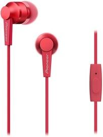 Наушники Pioneer SE-C3T in-ear, красный