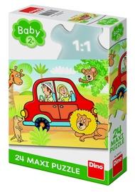 Dino Baby Safari Maxi Puzzle 24pcs