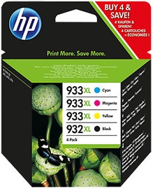 HP 932XL 4-Pack B/C/M/Y