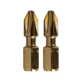 Makita Torsion B-28355 PH2 25mm Screwdriver Bit 2pcs