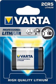Varta Lithium Camera Battery 2CR5 6V 1600mAh
