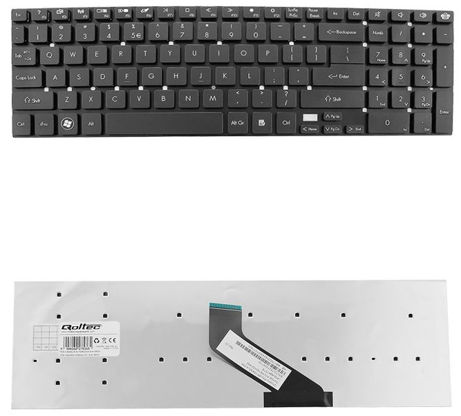 Qoltec Acer Keyboard 5830t Black