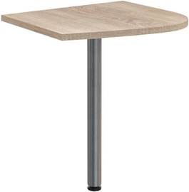 Skyland Offix New OKD 64 Table Extension 58x64x2.5cm Left Sonoma Oak