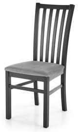 Ēdamistabas krēsls Halmar Gerard 7, melna/pelēka