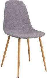Ēdamistabas krēsls Signal Meble Fox Gray, 1 gab.