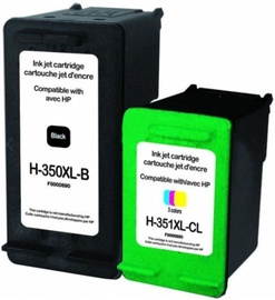 Uprint Cartridge for HP Black 35ml Colour 21ml