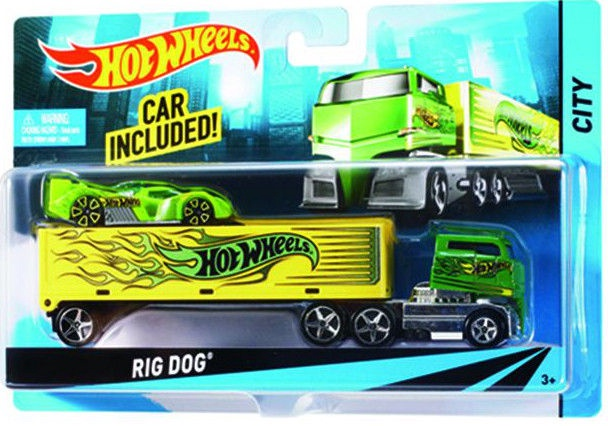 Mattel Hot Wheels City Super Rigs BDW51