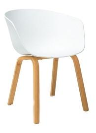Ēdamistabas krēsls Signal Meble Ego White, 1 gab.