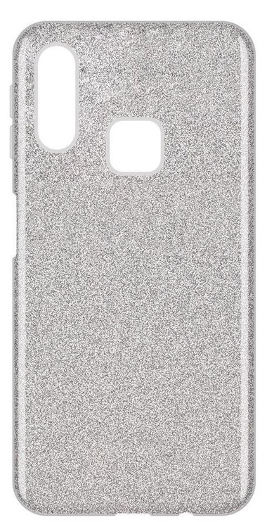 Wozinsky Glitter Shining Back Case For Samsung Galaxy A40 Silver