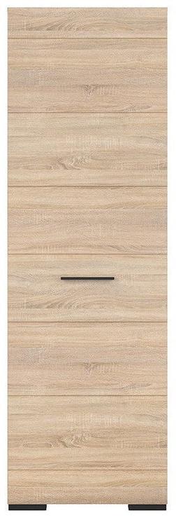 Skapis Black Red White Fever Sonoma Oak, 64x37x199 cm