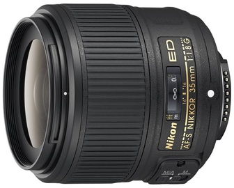 Объектив Nikon AF-S Nikkor 35mm F1.8 G ED, 305 г