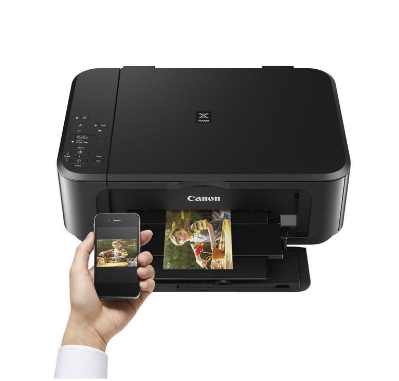 Daudzfunkciju printeris Canon MG3650 Black, tintes, krāsains
