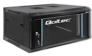 """Серверный шкаф Qoltec 19"""" 4U, 60 см x 28 см x 45 см"""