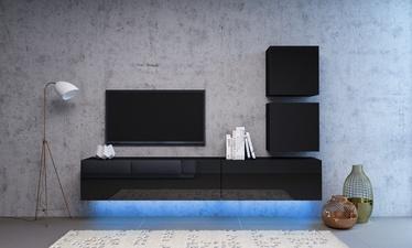 Vivaldi Meble Vivo 1 Furniture Set With LED Black