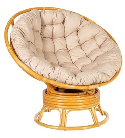 Home4you Papasan Lounge Chair Rotang