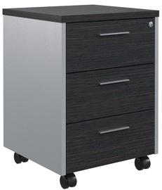 Skyland Office Cabinet OMC-3D Legno Dark/Light Grey