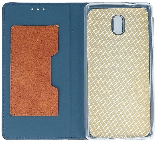 Mocco Smart Retro Book Case For Apple iPhone 7/8 Blue/Brown
