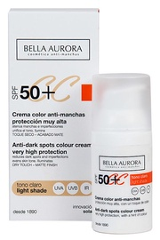 CC крем для лица Bella Aurora SPF50+ Light Shade, 30 мл
