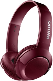 Austiņas Philips SHB3075RD Red, bezvadu