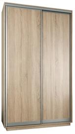 Garant-NV Wardrobe w/ 2 Sliding Doors 160x240x60cm Sonoma Oak