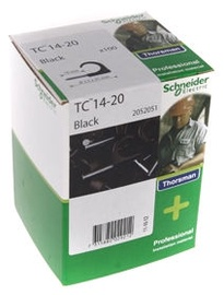 Schneider Electric Cable Clamps 14-20 Black 100pcs