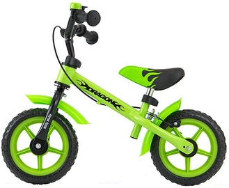 Балансирующий велосипед Milly Mally Dragon With Brakes Green 0301